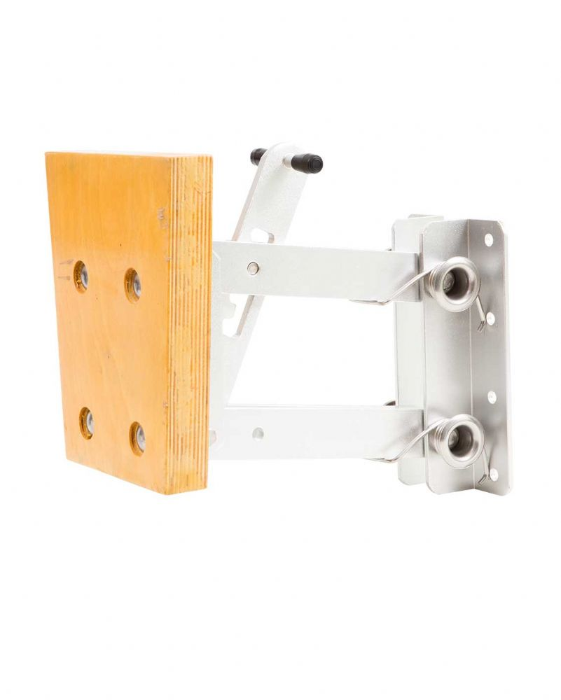 Seago Yachting Alloy Outboard Bracket with Wooden Pad